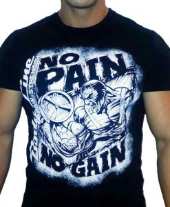 tricou-culturism-no-pain-no-gain-bodyline