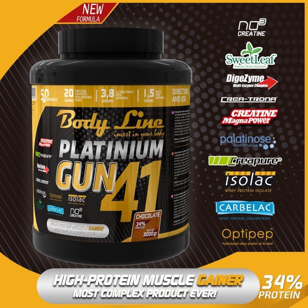 Platinum GUN 41 - cel mai bun gainer
