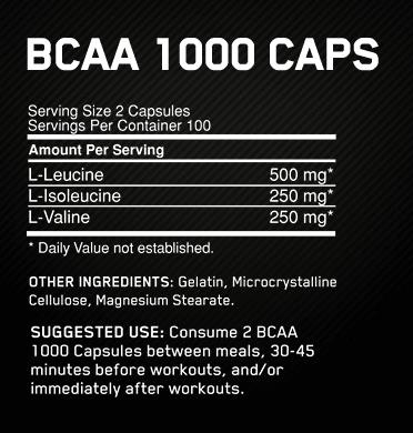 AMINO BCAA 1000-209