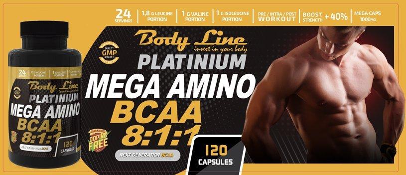 Platinium Mega Amino Bcca