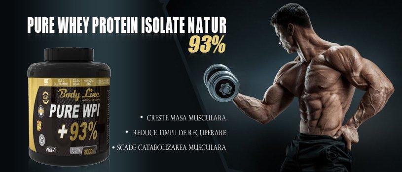 Pure WPI 93% - zolat proteic din zer